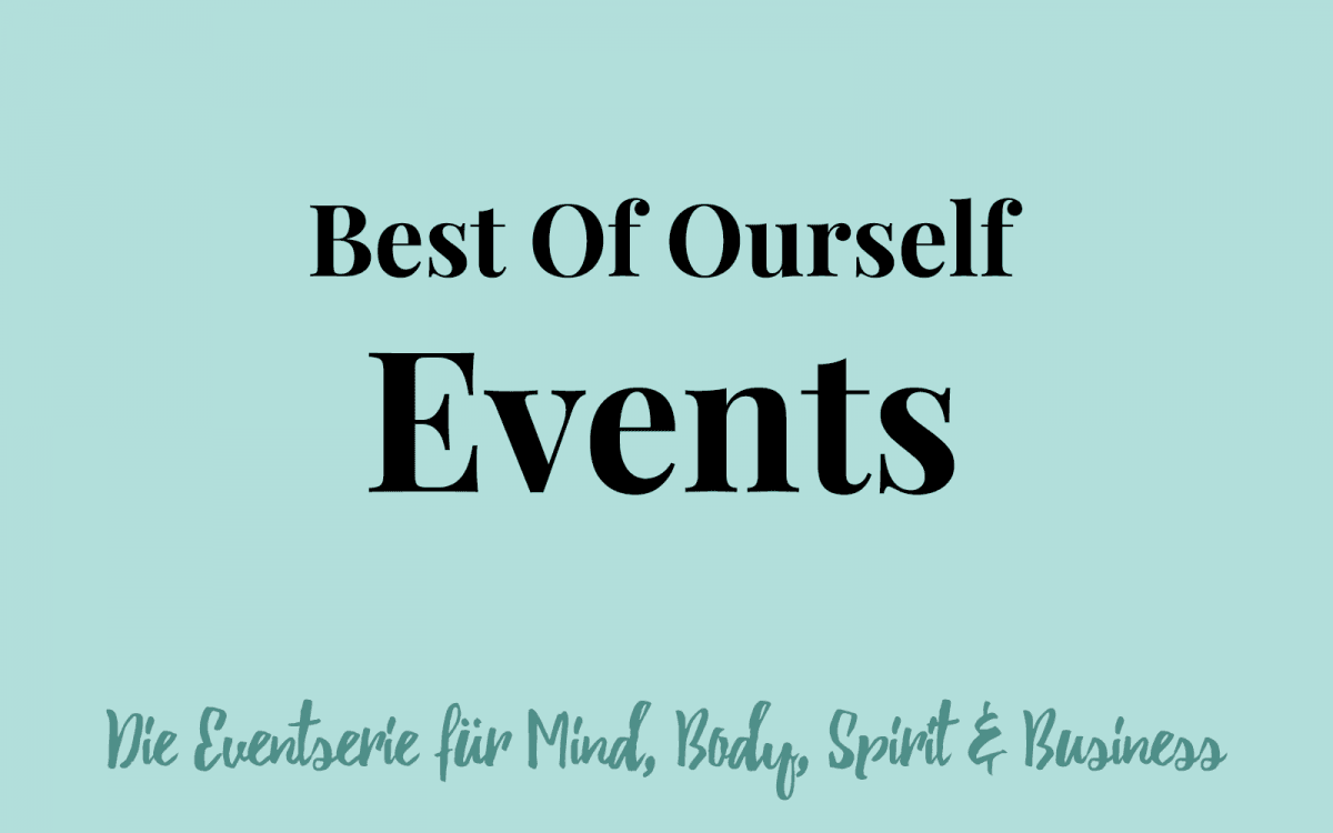 Best Of Ourself Events