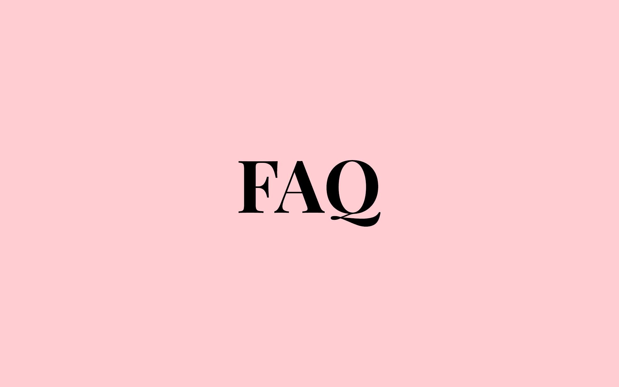 FAQ - Best Of Ourself