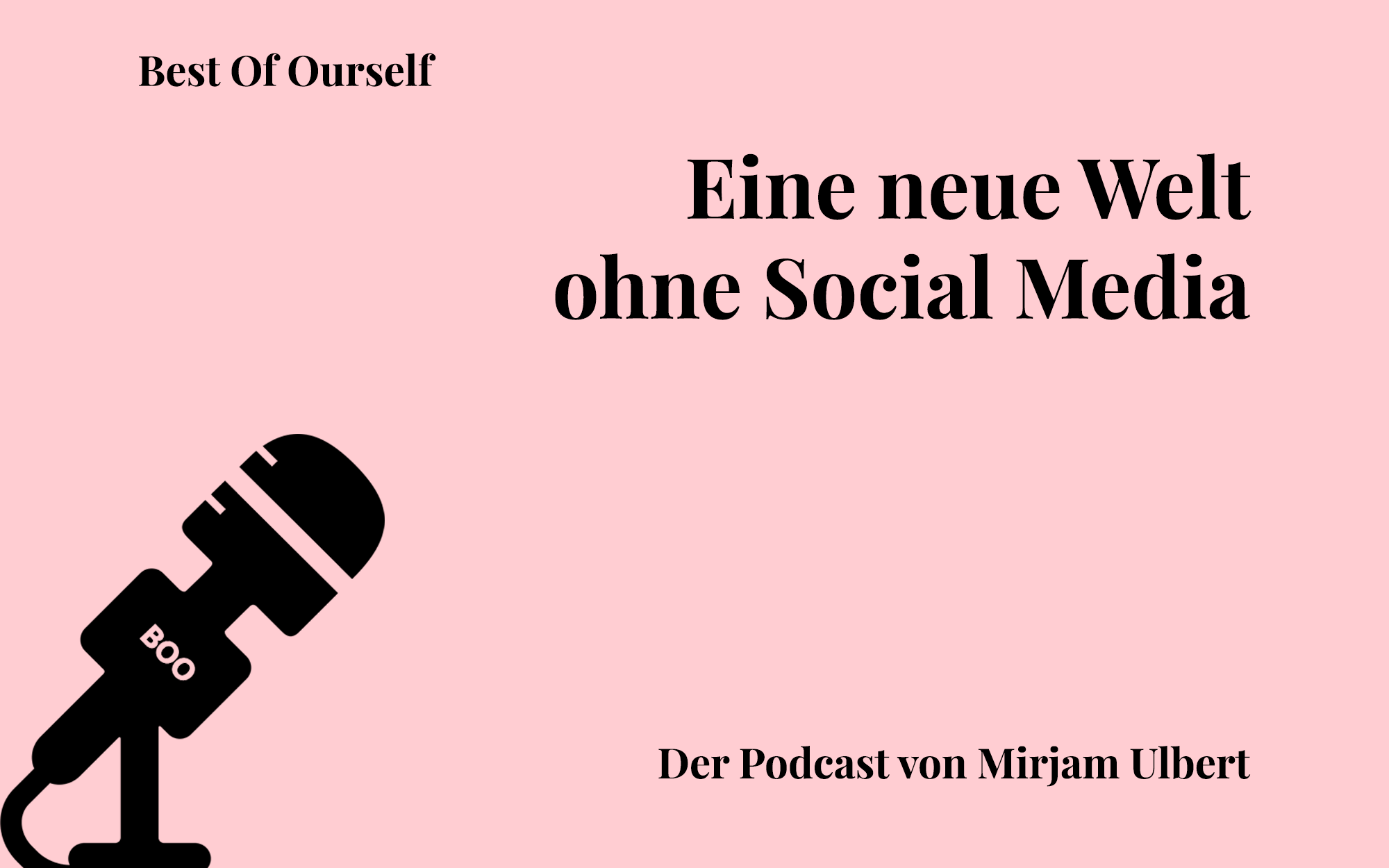 Eine neue Welt ohne Social Media